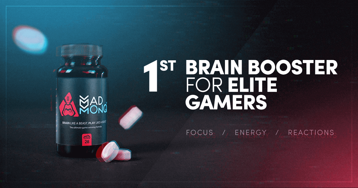 MADMONQ® - First health and performance gaming supplement